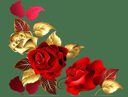 fleur bas gauche